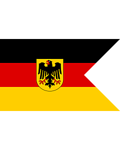 Fahne: Flagge: Deutsche Konsular-Flagge