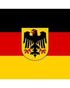 Fahne: Flagge: Bundesminister Deutschland