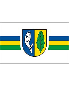 Fahne: Flagge: Gemeinde Graal-Müritz