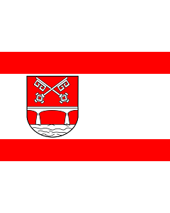 Fahne: Flagge: Petershagen   It is easy to put a border around this flag image