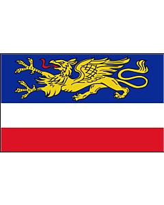 Fahne: Flagge: Hansestadt Rostock