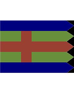Fahne: Flagge: Jutland   Jutlandic banner   Den Jydske Fane
