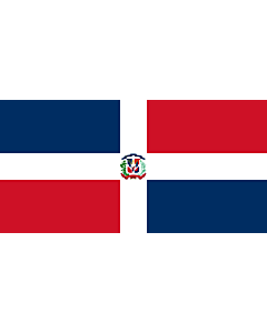 Fahne: Flagge: Naval Ensign of the Dominican Republic