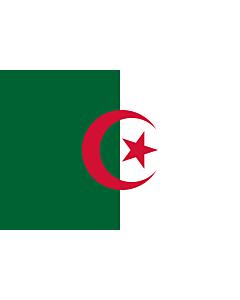 Fahne: Flagge: Algerien