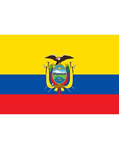 Fahne: Flagge: Ecuador