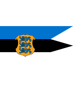 Fahne: Flagge: Naval Ensign of Estonia