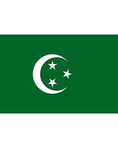 Fahne: Flagge: Egypt  1882-1922 | Egypt 1882