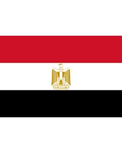 Fahne: Flagge: Ägypten