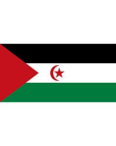 Fahne: Flagge: Westsahara