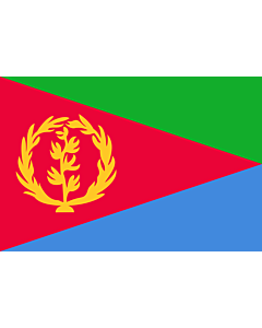 Fahne: Flagge: Eritrea