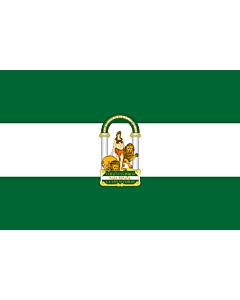 Fahne: Flagge: Andalusia