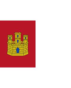 Fahne: Flagge: Castilla-La Mancha
