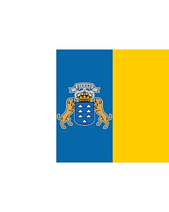 Fahne: Flagge: Kanarischen Inseln