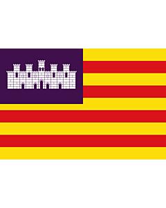 Fahne: Flagge: BalearicIslands