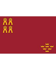 Fahne: Flagge: RegionMurcia