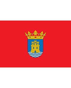 Fahne: Flagge: Alcalá de Henares | D Alcalá de Henares | Alkalao | Alcalá de Henaresko bandera | E Alcalá de Henares | Bandièra d Alcalá de Henares