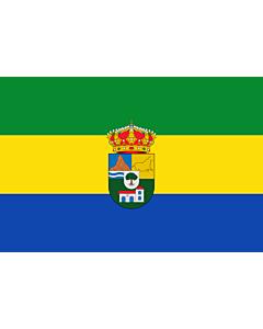 Fahne: Flagge: Tres Villas | Municipio de Las Tres Villas en la Provincia de Almería  España