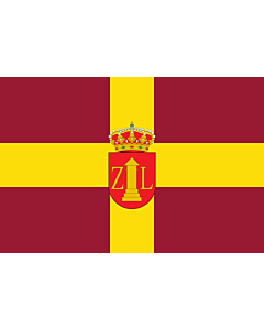 Fahne: Flagge: Zalamea la Real Spain