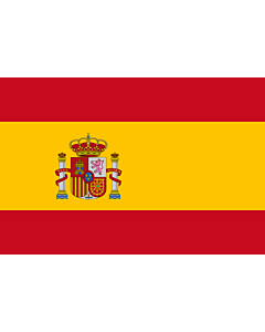 Fahne: Flagge: Spaniens