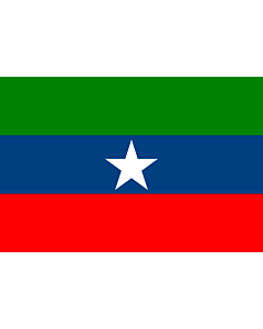 Fahne: Flagge: Ogaden | Ogaden  Western Somalia , Ethiopia | Ogaden, regione dell'Etiopia
