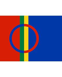 Fahne: Flagge: Lappland