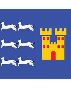 Fahne: Flagge: Provinz Oulu