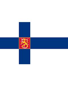 Fahne: Flagge: Finnland