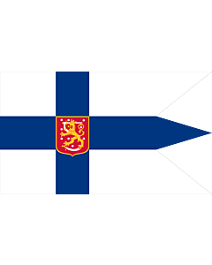 Fahne: Flagge: Finland 1920-1978  Military | Military flag of Finland 1920-1978