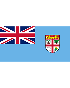 Fahne: Flagge: Fidschi