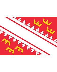Fahne: Flagge: Elsass
