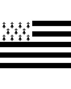 Fahne: Flagge: Brittany