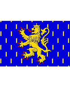 Fahne: Flagge: Franche-Comté