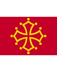 Fahne: Flagge: Midi-Pyrénées
