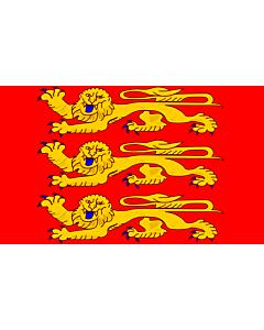 Fahne: Flagge: Upper Normandie