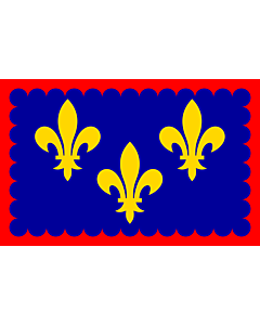 Fahne: Flagge: Berry | Region Bérry in France | Région Bérry en France | Bérry