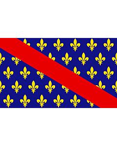 Fahne: Flagge: Bourbonnais | French province of Bourbonnais