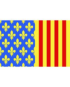 Fahne: Flagge: Fr département Lozère | Lozère | Département de la Lozère