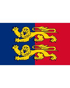 Fahne: Flagge: Fr département Manche | Manche | Département de la Manche