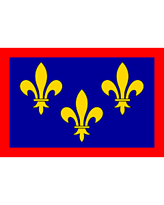 Fahne: Flagge: France anjou