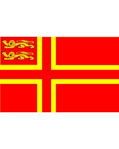 Fahne: Flagge: Normandy flag falaise | Normandy,  of Falaise | Falaisien