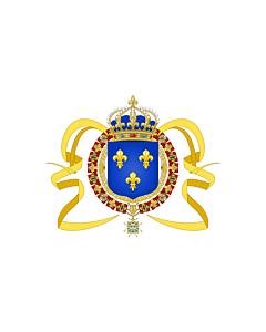 Fahne: Flagge: Pavillon LouisXIV
