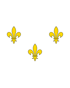 Fahne: Flagge: Royalist France | Royalist France prior to 1789 and from 1814-30 I created this image as a vector replacement for Image French Fleur-De-Lis  White