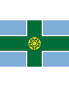 Fahne: Flagge: Derbyshire