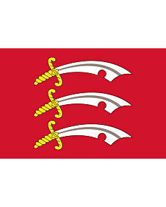 Fahne: Flagge: Essex