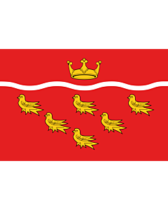 Fahne: Flagge: East Sussex