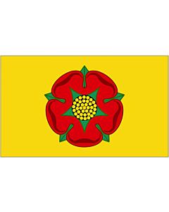 Fahne: Flagge: Lancashire