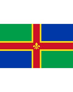 Fahne: Flagge: Lincolnshire