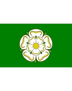 Fahne: Flagge: North Yorkshire