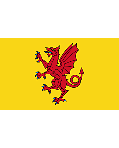 Fahne: Flagge: Somerset
