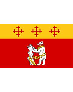 Fahne: Flagge: Warwickshire